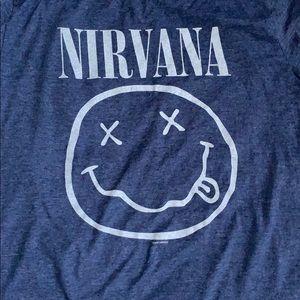Old Navy Tops - Nirvana Band Tee
